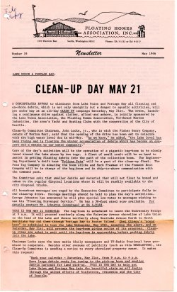 May 1966 Newsletter