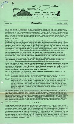 October 1966 Newsletter