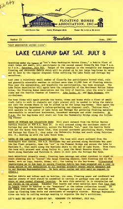 June 1967 Newsletter