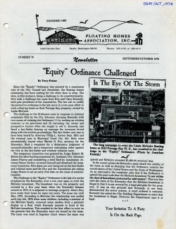 September 1978 Newsletter
