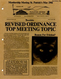 May 1980 Newsletter