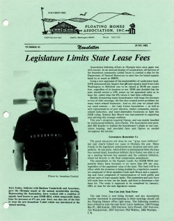June 1982 Newsletter