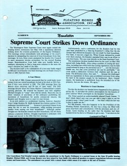 September 1983 Newsletter