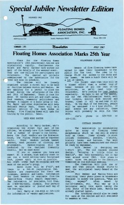 July 1987 Newsletter