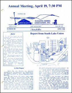 April 1988 Newsletter