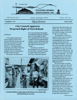 Fall 1990 Newsletter
