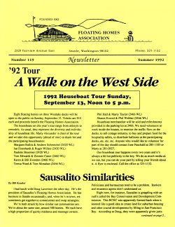 Summer 1992 Newsletter