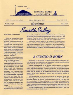 Fall 1997 Newsletter