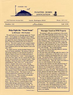 Fall 1998 Newsletter